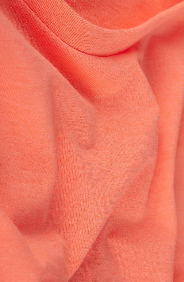 Alternate Image 2  - Topshop Rolled Sleeve Crop Tee