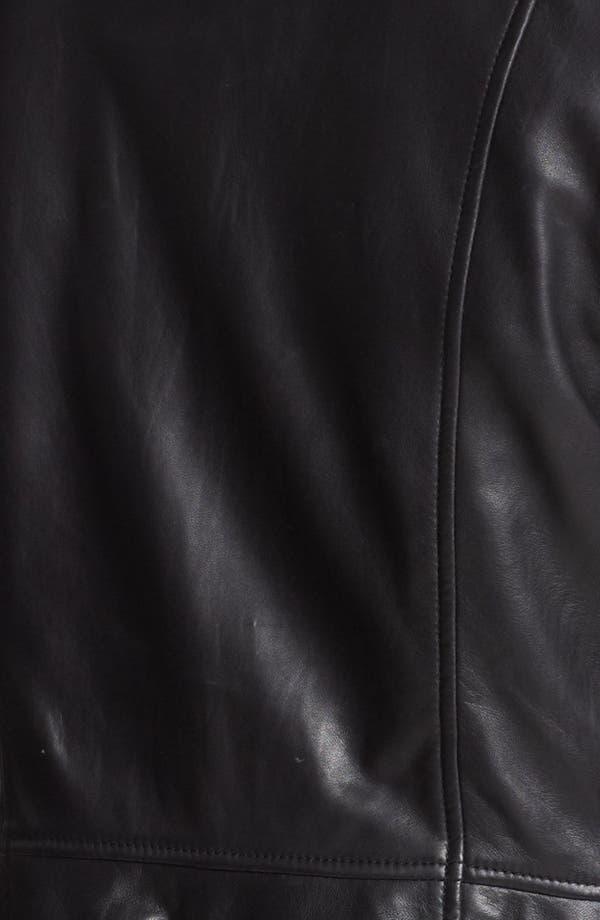 Alternate Image 3  - Hinge® Laser Cut Leather Jacket