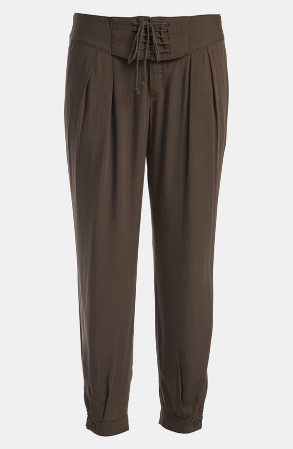 'Island' Crop Pants,                         Main,                         color, Brown- Major