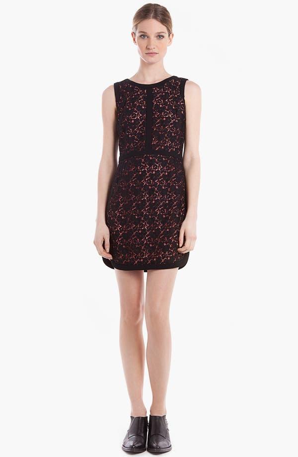 Main Image - sandro 'Ravissante' Lace Shift Dress