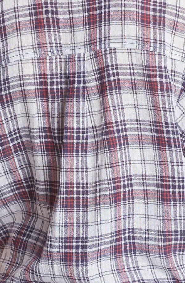 Alternate Image 3  - Rubbish® Plaid Shirt (Juniors)