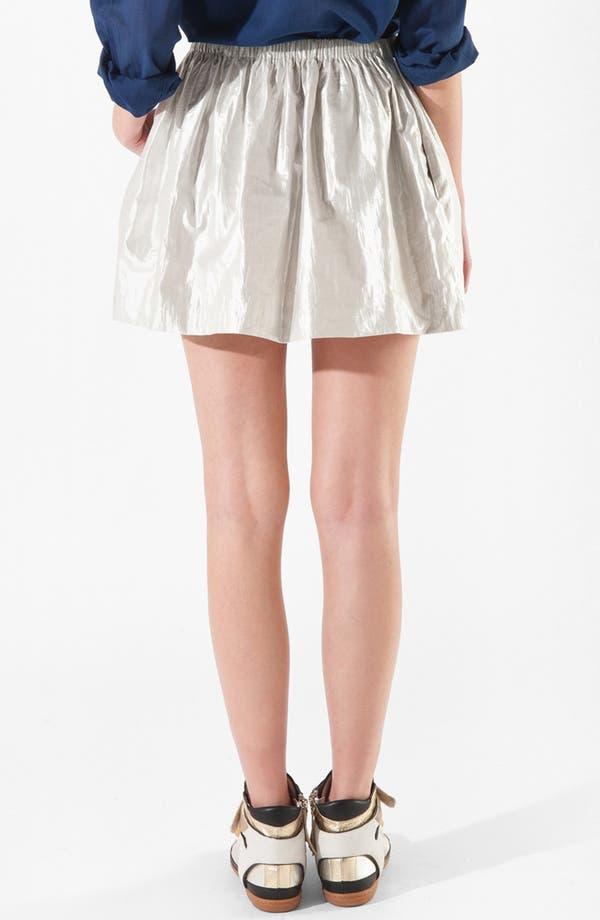 Alternate Image 2  - maje 'Camon' Lamé Skirt