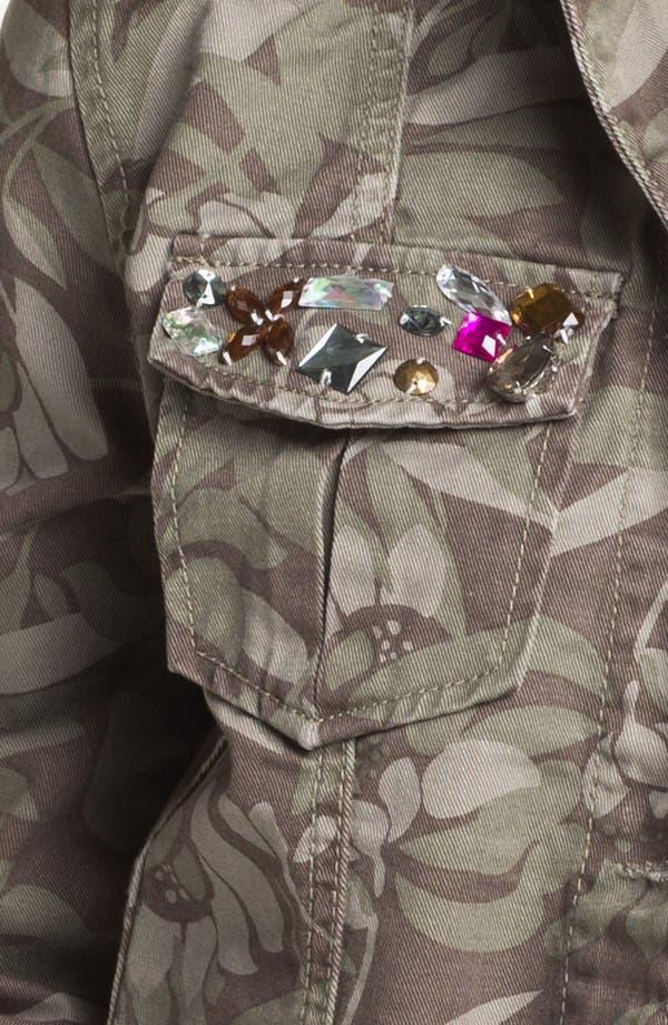 Alternate Image 3  - Angel Kiss Camo Crop Jacket (Juniors)