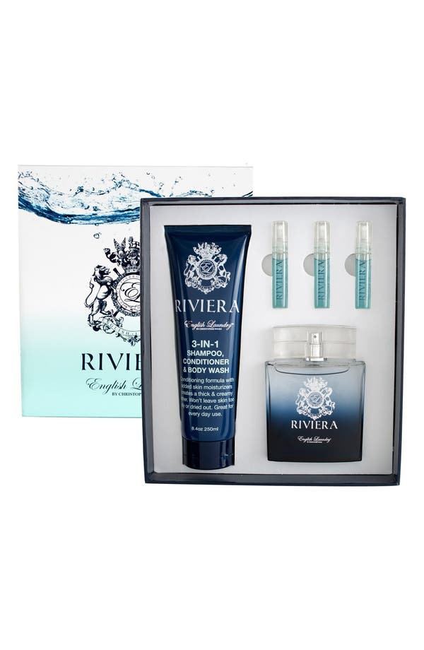 Alternate Image 1 Selected - English Laundry 'Riviera' Fragrance Gift Set ($131 Value)