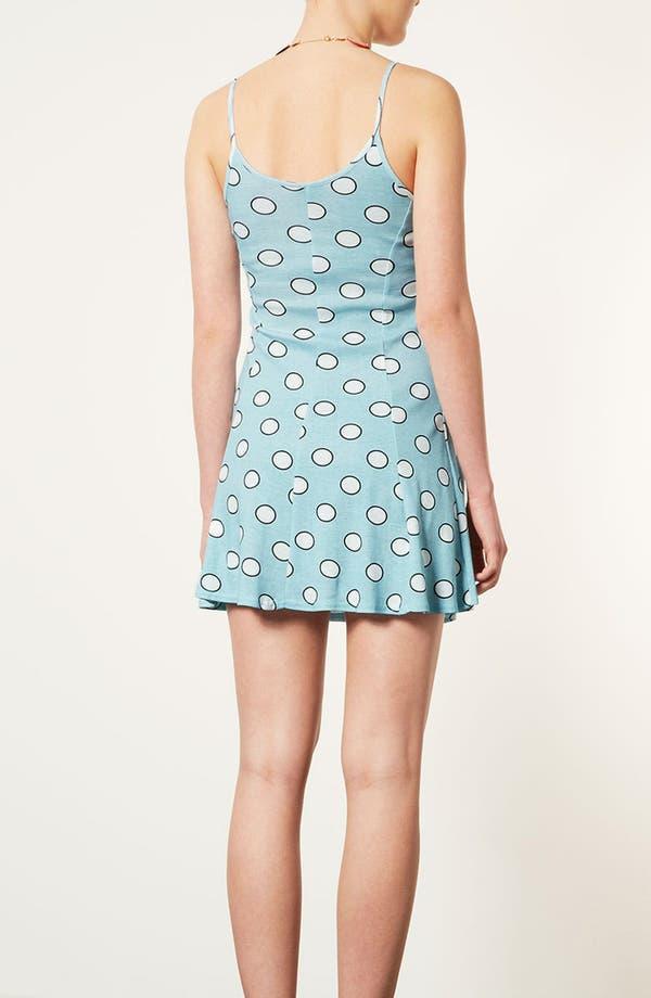 Alternate Image 2  - Topshop 'Egg Spot' Strappy Flippy Dress