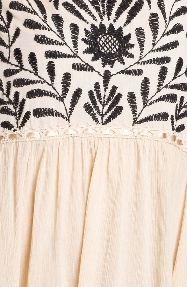 Alternate Image 3  - Free People 'Marina' Embroidered High/Low Dress