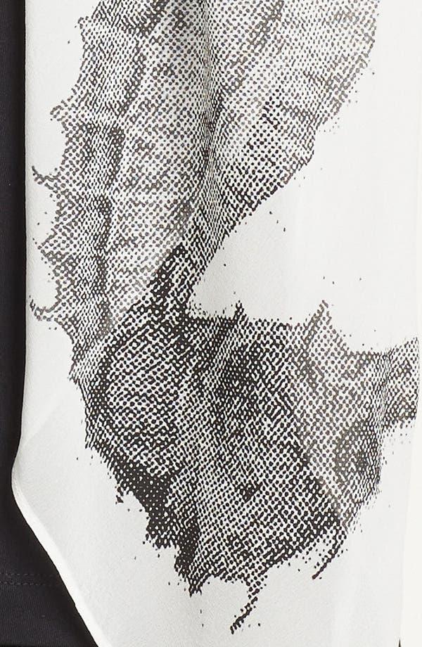 Alternate Image 3  - Karen Kane Print Silk Scarf
