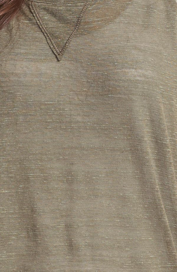 Alternate Image 3  - Pleione Lace Shoulder Inset Tee