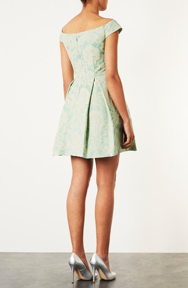 Alternate Image 2  - Topshop 'Debutante' Off Shoulder Dress