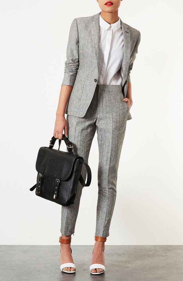 Alternate Image 4  - Topshop 'Preppy Fleck' Blazer