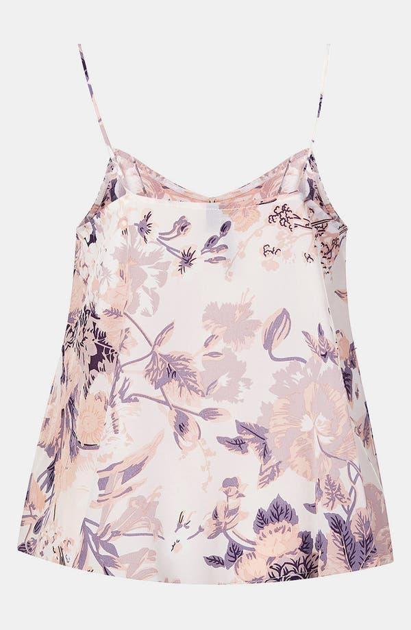 Alternate Image 2  - Topshop Floral Silk Camisole