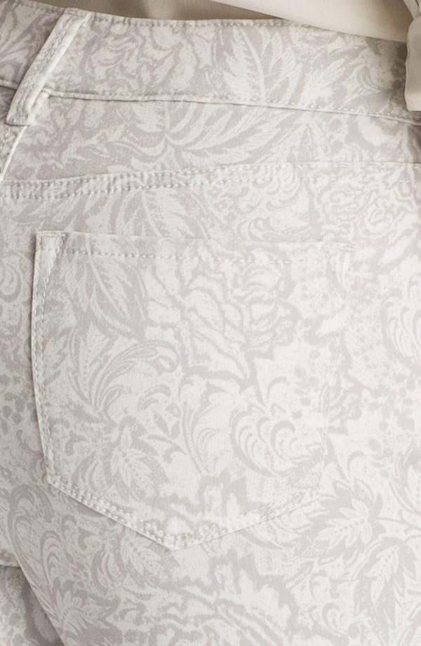 Alternate Image 3  - NYDJ 'Alisha' Print Skinny Stretch Ankle Jeans (Petite)