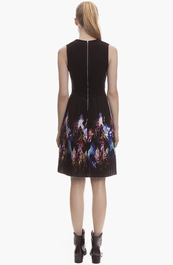 Alternate Image 2  - sandro 'Repli' Pleated A-Line Dress