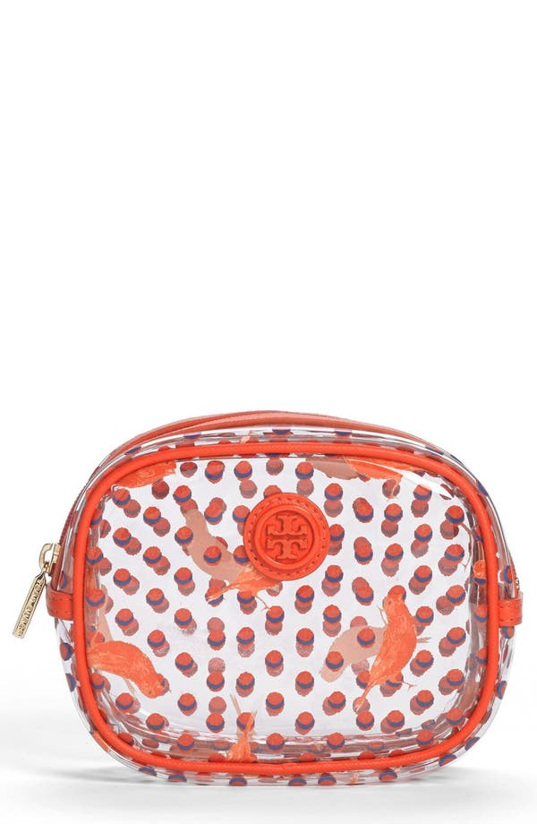 Alternate Image 1 Selected - Tory Burch 'Lizzie - Small' Cosmetics Case