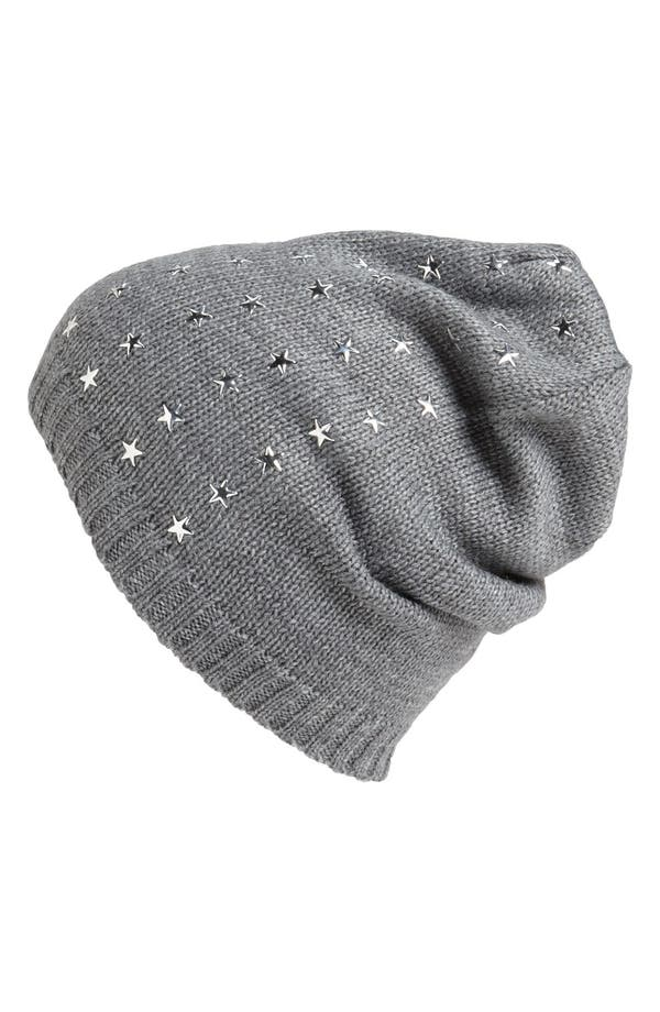Alternate Image 1 Selected - San Diego Hat Star Studded Beanie (Girls)