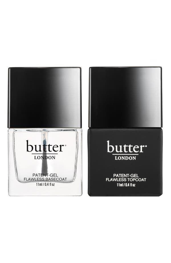 Main Image - butter LONDON 'Patent-Gel Top & Tails' Set