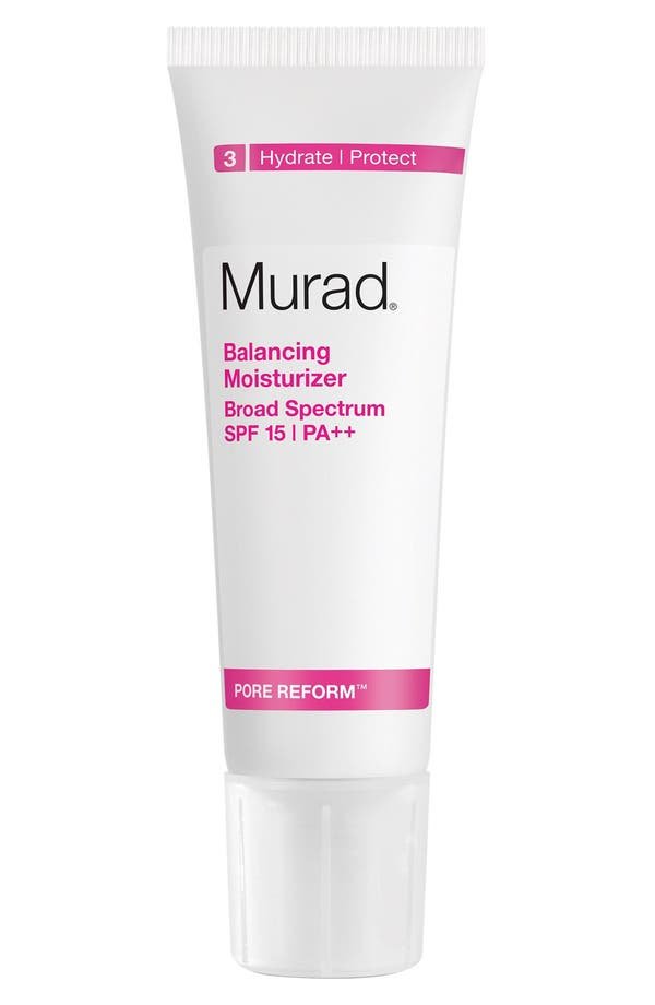 Alternate Image 1 Selected - Murad® Balancing Moisturizer Broad Spectrum SPF 15 PA++