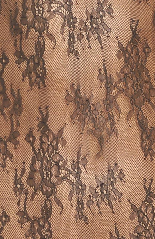 Miss West Lace Bodysuit,                             Alternate thumbnail 5, color,                             Black