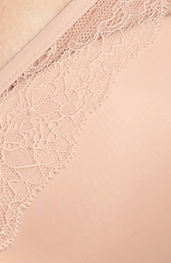 Underwire Contour Bra,                             Alternate thumbnail 6, color,                             Rose Dust