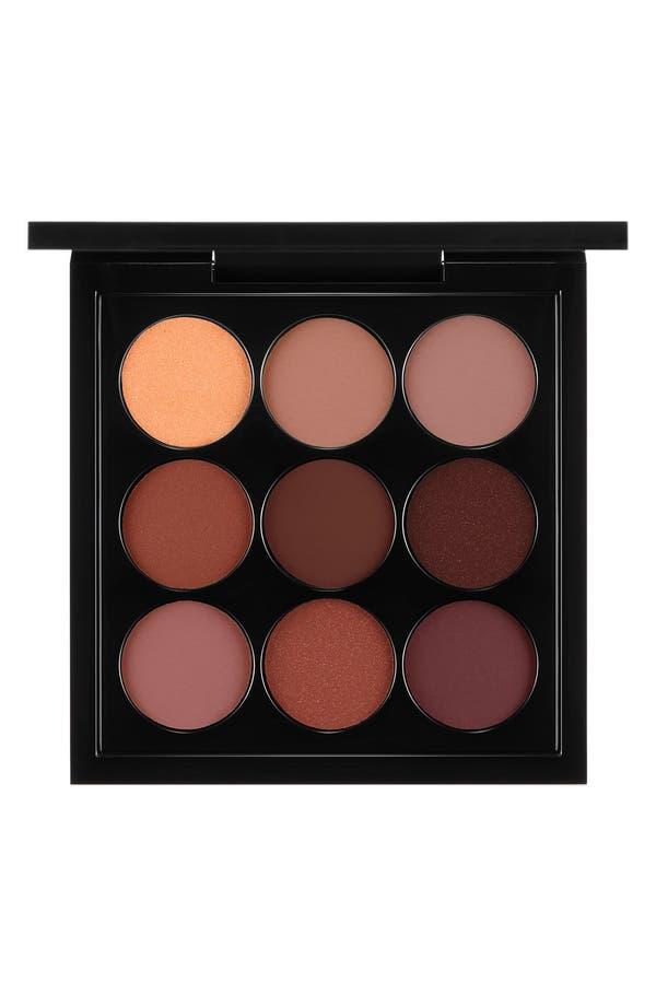 MAC Burgundy Times Nine Eyeshadow Palette,                             Main thumbnail 1, color,                             Burgundy Times Nine