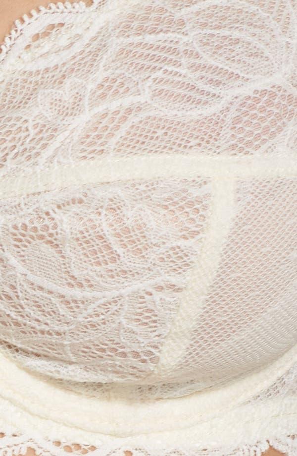 Seductive Comfort Demi Bra,                             Alternate thumbnail 7, color,                             Ivory