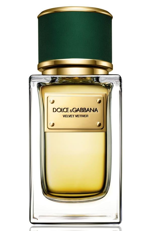 Dolce&GabbanaBeauty 'Velvet Vetiver' Eau de Parfum,                             Main thumbnail 1, color,                             No Color