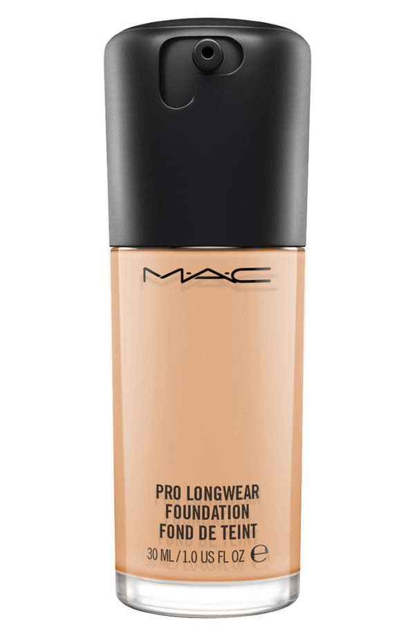 MAC Pro Longwear Foundation,                         Main,                         color, Nw18