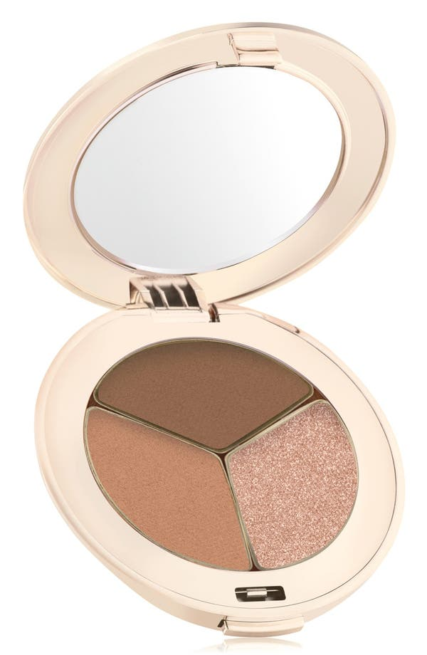 PurePressed<sup>®</sup> Triple Eyeshadow,                             Main thumbnail 1, color,                             Triple Cognac