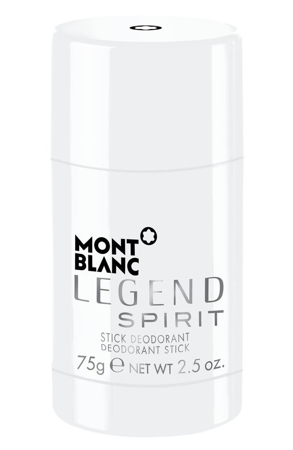 Alternate Image 1 Selected - Montblanc 'Legend Spirit' Deodorant Stick