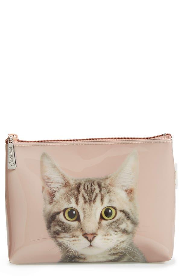 Alternate Image 1 Selected - Catseye London 'Kitty' Small Cosmetics Bag