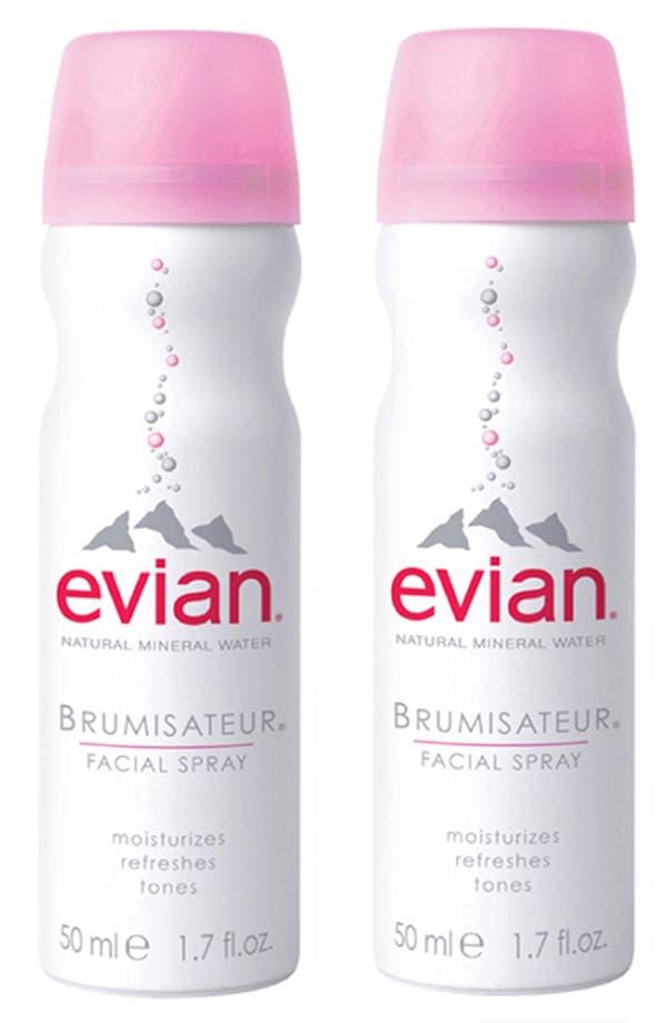 Alternate Image 1 Selected - Evian® Mini Facial Water Spray Duo