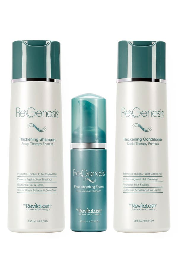 ReGenesis by RevitaLash<sup>®</sup> Total Care Fine & Thinning Hair Fast Absorbing Foam Regimen,                             Alternate thumbnail 2, color,                             No Color