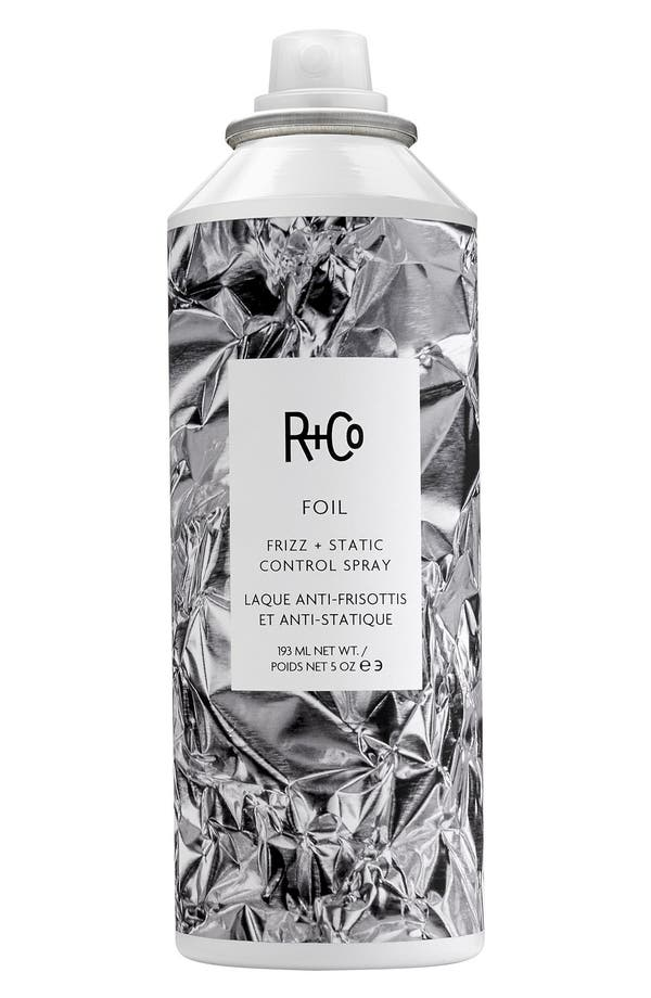 Space.NK.apothecary R+Co Foil Frizz + Static Control Spray,                             Main thumbnail 1, color,                             No Color