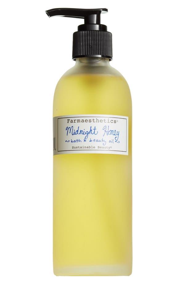 Main Image - Farmaesthetics Midnight Honey Bath & Beauty Oil
