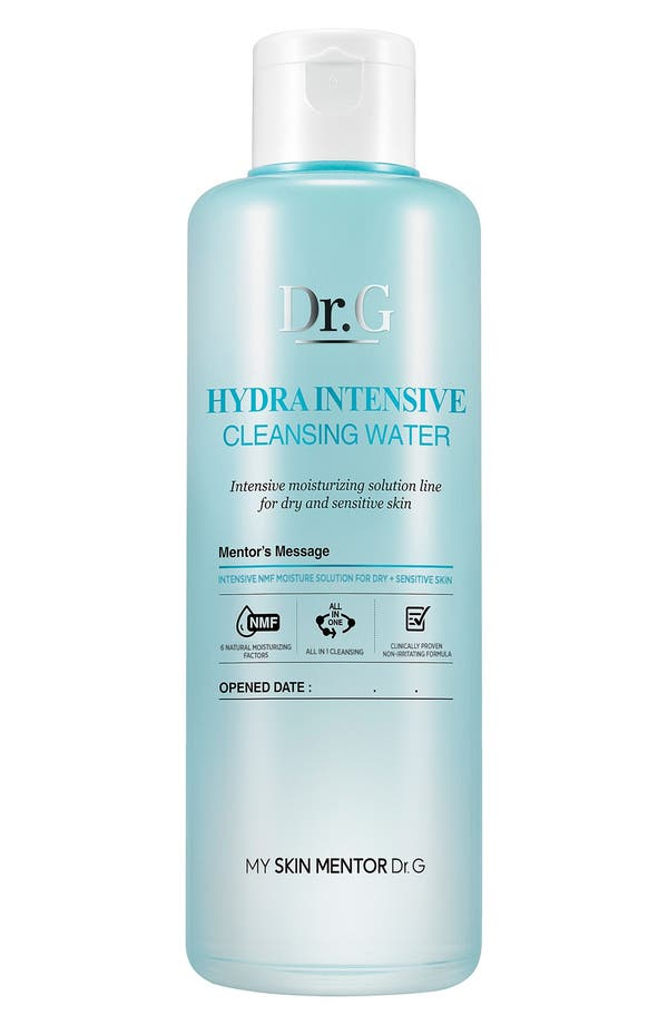 Alternate Image 1 Selected - My Skin Mentor Dr. G Beauty Hydra Intensive Cleansing Water