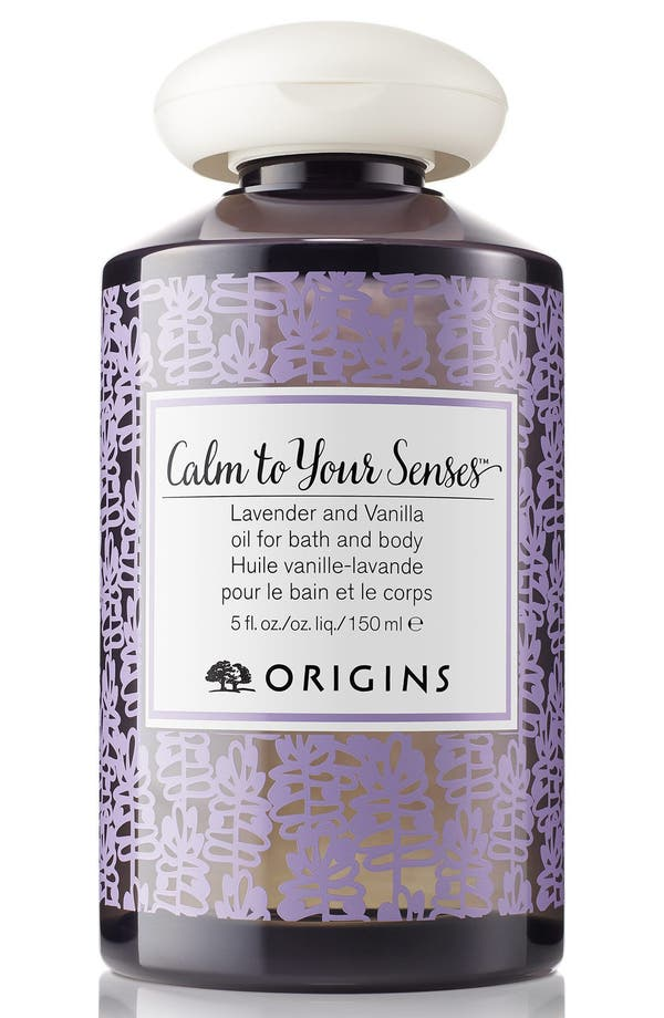 Main Image - Origins Calm To Your Senses™ Lavender and Vanilla Oil for Bath and Body