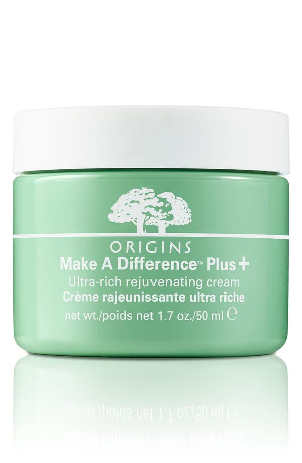 Alternate Image 1 Selected - Origins Make A Difference™ Plus+ Ultra-Rich Rejuvenating Cream