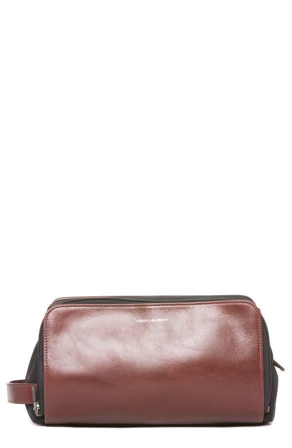 HOOK + ALBERT Leather Travel Kit