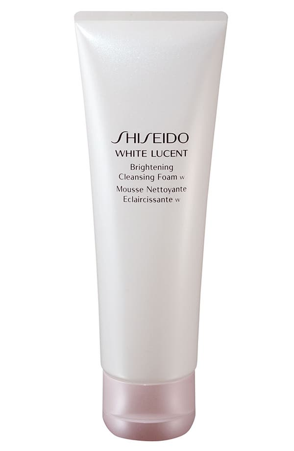 Alternate Image 1 Selected - Shiseido 'White Lucent' Brightening Cleansing Foam