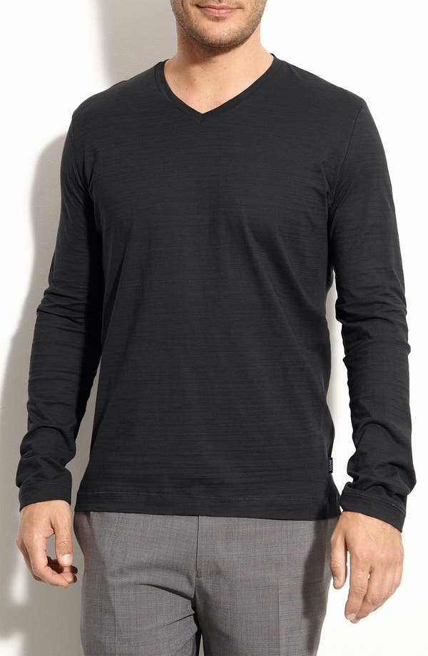 Main Image - BOSS Black 'Vino 05' Regular Fit V-Neck Pullover