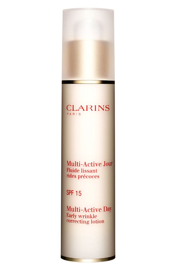 Alternate Image 1 Selected - Clarins 'Multi-Active' Day Early Wrinkle Correcting Lotion