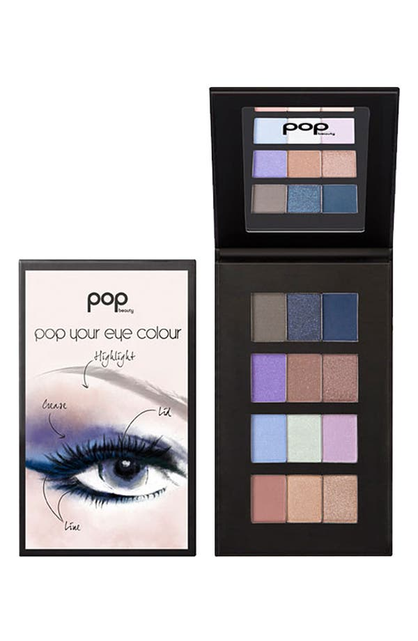 Alternate Image 1 Selected - POP Beauty 'Pop Your Eye Colour' Eyeshadow Palette