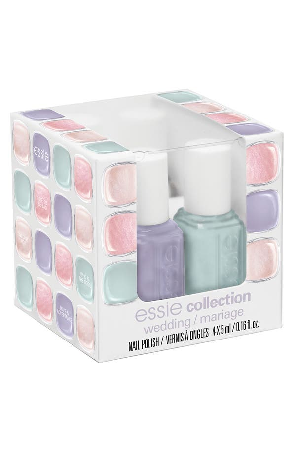 Main Image - essie® 'Wedding Collection' Mini 4-Pack