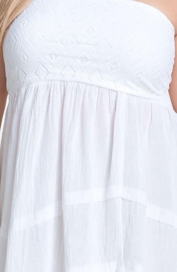 Alternate Image 3  - Becca 'Lighten Up' Convertible Cover-Up Dress (Plus)
