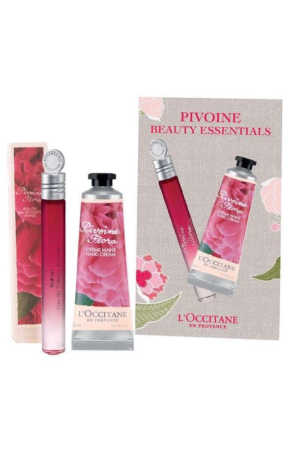 Alternate Image 1 Selected - L'Occitane 'Pivoine Beauty Essentials' Set ($30 Value)