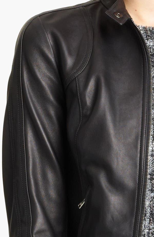 Alternate Image 3  - Dolce&Gabbana Leather Jacket