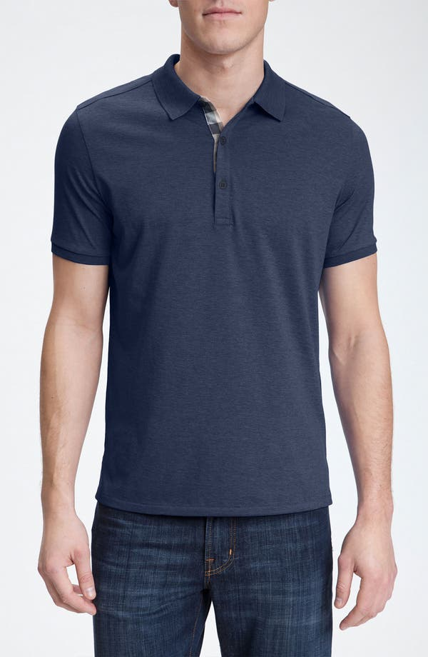 Main Image - Burberry Brit Modern Fit Pima Cotton Polo