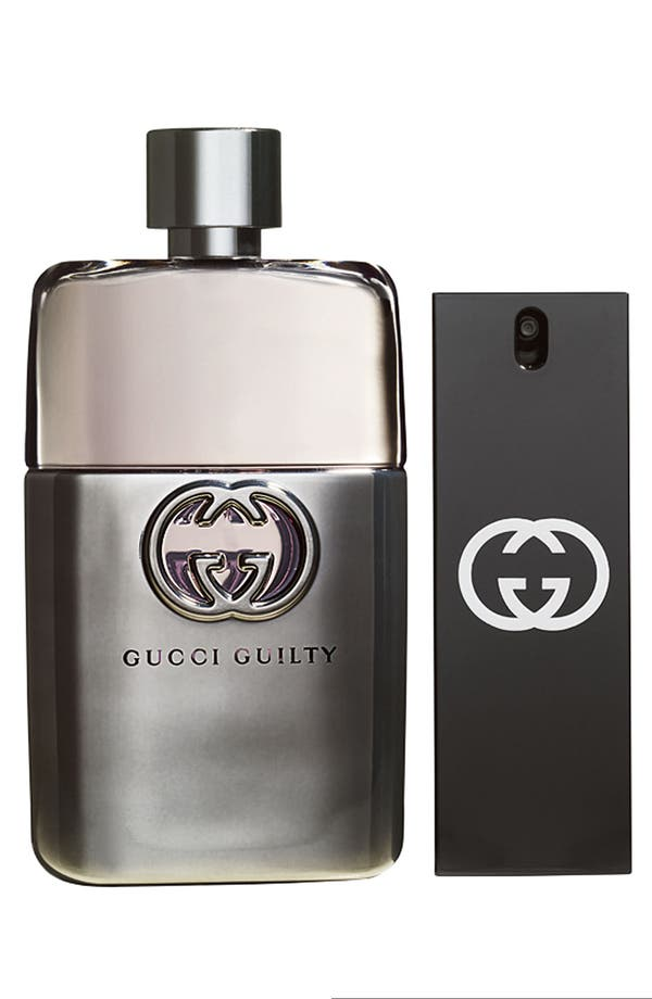 Alternate Image 1 Selected - Gucci 'Guilty pour Homme' Gift Set ($128 Value)