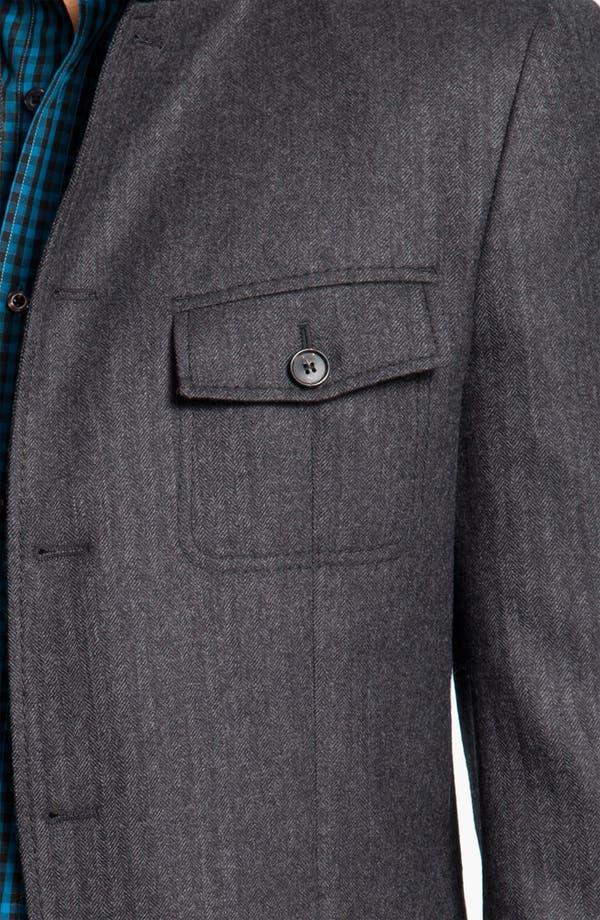 Alternate Image 3  - BOSS Black 'Harper' Herringbone Field Jacket