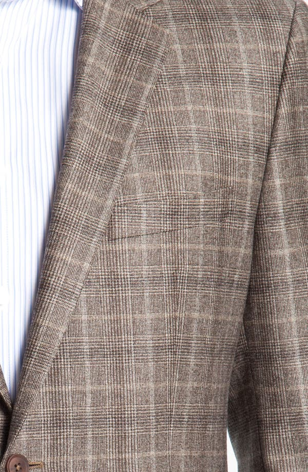 Alternate Image 3  - BOSS Black 'Smith' Trim Fit Plaid Sportcoat